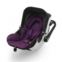 Kiddy Car seat Evoluna i-Size (0-13kg) with Isofixbase Royal Purple