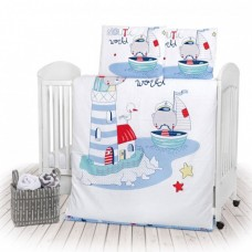 Kikka Boo 4-elements Bedding Set Nautic