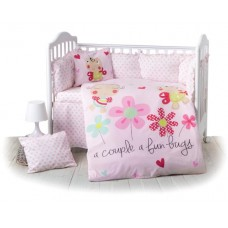 Kikka Boo 7-elements Bedding Set Honey Bee