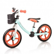 KinderKraft Колело за балансиране Runner 2way Next мента-оранжево