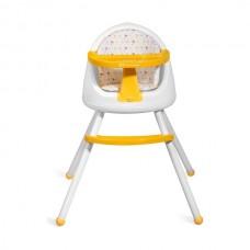 KinderKraft Столче за хранене 3 в 1 Tutti жълто