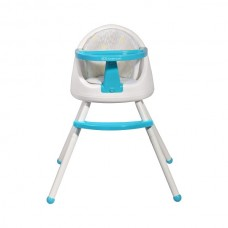 KinderKraft Столче за хранене 3 в 1 Tutti синьо