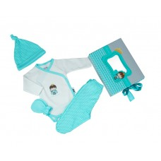 Kikka Boo Gift set for newborn Little prince