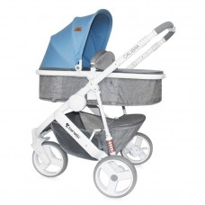 Lorelli Baby stroller Calibra 2 in 1 Grey&Blue