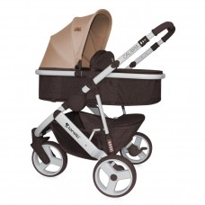 Lorelli Baby stroller Calibra 2 in 1 Brown