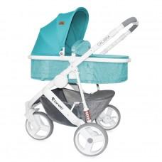 Lorelli Baby stroller Calibra 2 in 1 Aquamarine