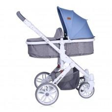 Lorelli Baby stroller LUNA 2in1 Grey