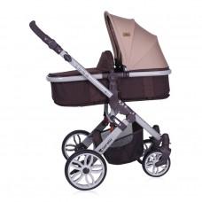 Lorelli Baby stroller Luna 2 in1  Brown&Beige
