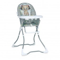 Lorelli Marcel Grey Cute Kitten Baby High Chair