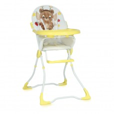 Lorelli Marcel Yellow Fairy Bear Baby High Chair
