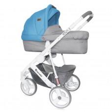 Lorelli Детска количка Monza 3 2 в 1 Grey&Blue