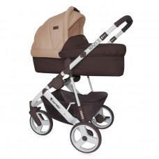 Lorelli Детска количка Monza 3 2 в 1 Brown&Beige