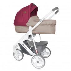 Lorelli Детска количка Monza 3 2 в 1 Beige&Red