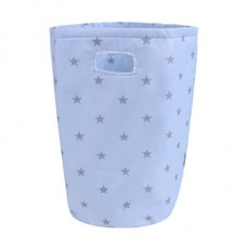 Minene Laundry Basket Blue Stars