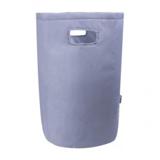 Minene Laundry Basket Grey dots