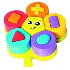 Playgro Активна играчка-пъзел Цвете