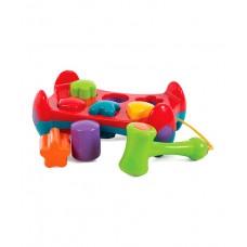 Playgro Активна играчка с форми за подреждане и чук