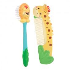 Sassy Soft Grip Comb & Brush