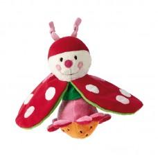 Sigikid Soft rattle Ladybug