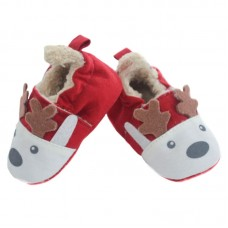 Soft Touch Baby Christmas Knitted Boots