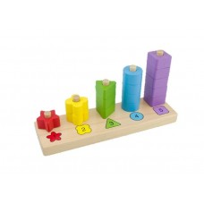 Thinkle stars Wooden Stacker Toy