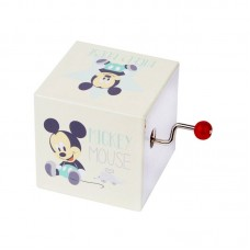 Trousselier Mickey Mouse Handcrank with Music