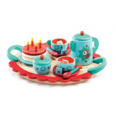 Djeco Fox's Party Tea Set with Cake