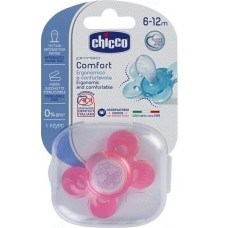 Chicco Silicone Physio Comfort 6-12m