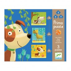 Djeco Primo puzzle Dogs