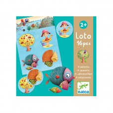 Djeco Educational game Loto 4 seasons