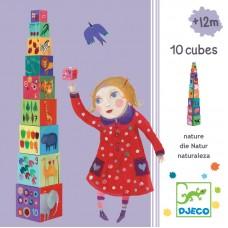 Djeco Cubes Animals