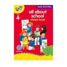 Galt All About School Sticker Book