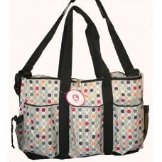 Barbabebe Diaper bag Polka Dots