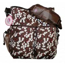 Barbabebe Diaper bag Spring Blossom