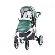 Chipolino Комбинирана количка Нина 3 в 1 Зелена