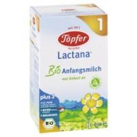 Organic milk for infants LACTANA ® Bio 1
