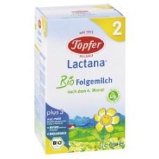 Lactana® Преходно БИО мляко Bio 2 6 месеца +