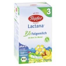 Lactana® Преходно БИО мляко Bio 3 10 месеца +