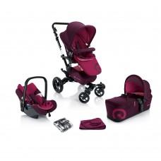 Concord Бебешка Количка Neo Mobility Set 3в1 Candy pink