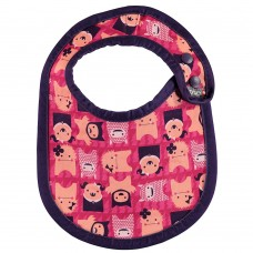 Close Parent Bib Stage 1 Edie Monster