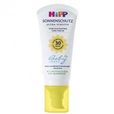 Hipp Sun creme SPF30, 50ml.