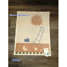 Bio cotton kids blanket 75 x 100 cm