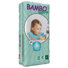 Bambo Nature Eco nappies Junior Tall Pack, 54pcs. - size 5