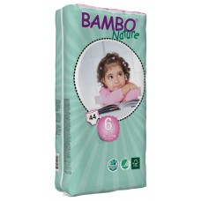 Bambo Nature Eco nappies XL Tall Pack, size 6