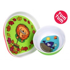 TUMTUM Children plate and bowl set