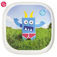 TUMTUM Children plate Monster