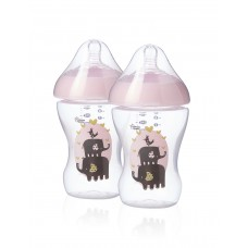 Tommee Tippee Feeding bottle Patterned 260 ml 2 pieces