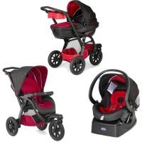 Chicco Комбинирана бебешка количка Trio Activ 3 Race