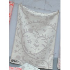 David Fussenegger Lena Cot Blanket, Organic Cotton Made with love