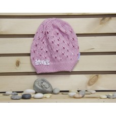 Aliap Плетена шапка с панделка